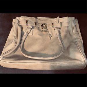 Tan leather Aldo purse